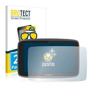 [2 Pack] Film Protection Mat Tomtom GO 6200 Protecteur Écran Anti-Reflets Screen Protector