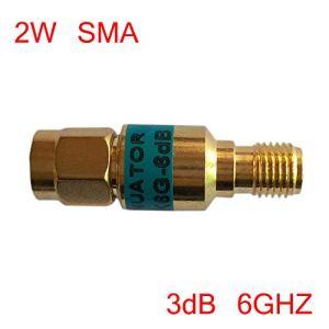 2W Sma-jk mâle vers femelle coaxial RF Atténuateur 6GHz 50Ω 3DB Connecteurs