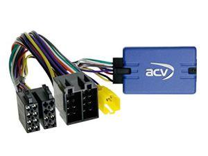 ACV Electronic Adaptateur de télécommande au volant pour autoradio Kenwood de Renault Clio Kangoo Megane Twingo