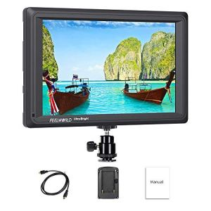 Feelworld FW279 7 Pouces Ultra Lumineux Caméra Moniteur DSLR Camera Field Monitor Full HD Focus Video Assist 1920×1200 IPS avec 4K HDMI Input Output 2200nit Haute Luminosité