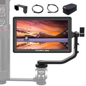 FEELWORLD Master MA6P 5.5 Pouces Moniteur Caméra Vidéo, 1920×1080 4K HDMI IPS Full HD Assistance Vidéo, Charge Caméra en Temps Téel Ecrans Visée pour Stabilisateur Gimbal DSLR Reflex Caméscope