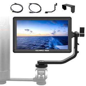 Feelworld Moniteur Camera 5.5 Pouces, Master MA6F 4K HDMI 1280×720 Rec.709 IPS Moniteur vidéo Externe Ecrans de visée pour Appareil Photo Sony Canon Nikon Panasonic