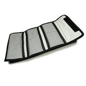 Filtre protecteur – Sacoche de Protection Grand, portefeuille à 6 poches pour filtres 25 – 86mm pour Canon Nikon Sony Pentax etc. DSLR Camera lentilles