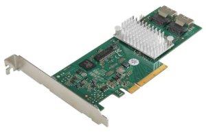 Fujitsu D2607 LSI2008e x8 SAS-Contrôleur 4 Ports avec Câble PCI-e x4