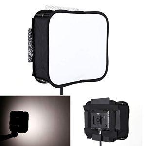 MDFGHJD 23 * 23 Diffuseur Softbox pour YONGNUO YN600L II YN900 YN300 YN300 III Air LED Vidéo Panneau Lumière Pliable Filtre Souple