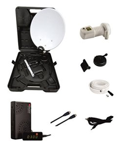 Opticum Easy Find LNB Universel avec LED de Couleur Pointeur Satellite Easy Find intégré (Blanc)
