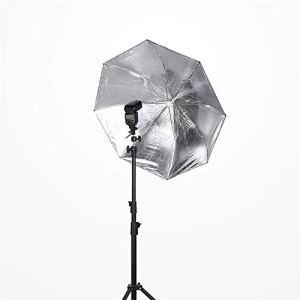 Réflecteur de Lumière Réflecteur de lumière multidisque pliable de 36 pouces, parapluie de forme parabolique à deux plis for portrait en plein air, enregistrement vidéo en noir et argent Réflecteurs