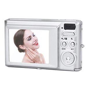 Tosuny Appareil Photo numérique Haute définition 720P 20MP 8X Zoom avec écran de 2,4 Pouces avec Batterie Rechargeable pour Enfants, Adolescents et débutants(Argent)