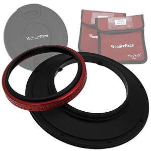 WonderPana 145 Noyau du Système et le Bouchon d'Objectif – 145mm Porte-Filtre pour l'objectif Olympus 7-14mm f/4.0