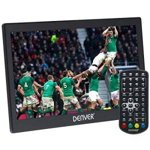Denver LED 1031Téléviseur LED Portable avec Digital Tuner TV intégré, DVB-T antenne, télécommande et port USB,Noir, 25,6cm (10,1)
