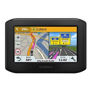 Garmin zumo 346 – GPS Moto – 4.3 pouces – Cartes Europe de l'Ouest 24 pays – Cartes, Trafic, Zones de Danger à Vie – Appels Mains Libres – Contrôle de la musique
