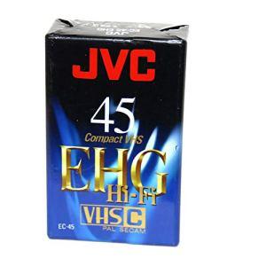 JVC Cassette VHS-C 45 Minutes EHG