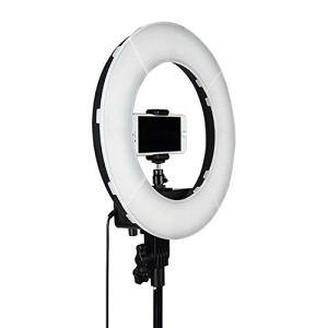 LED Lampe De Remplissage Luminosité Réglable Tir par Vous-même Lumière Supplémentaire 12in pour Les Maquilleurs Vidéaste Ancre