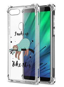 Oihxse Transparent Silicone Mignon Case Compatible pour Xiaomi Redmi Note 7/Note 7 Pro Coque TPU Souple Ultra Mince Housse Clear Crystal Design Motif Anti-Scrach Protection Etui Bumper (A15)