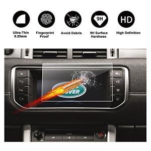 Protecteur d'écran en verre trempé pour système de navigation de (2011 – 2017) Range Rover Evoque, écran invisible, transparent cristal HD protecteur d'écran transparent, Protection des yeux, RUIYA