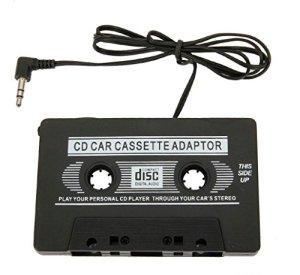 Straße Tech Adaptateur Cassette autoradio : Brancher Lecteur MP3, CD, Téléphone – Jack 3.5 mm