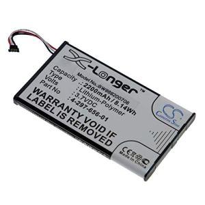 vhbw Batterie Compatible avec Sony PHA-2, PHA-2A Amplificateur DAC pour Casque (2200mAh, 3.7V, Li-Polymère)