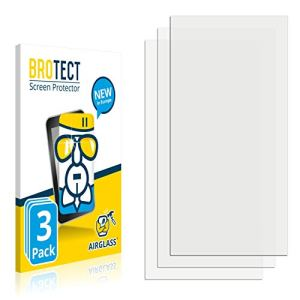 3X BROTECT Premium AirGlass Film de Protection en Verre pour FiiO M11 Pro (extrêmement résistant, Ultra-Fin, Haute Transparence, revêtement Anti-Traces de Doigts, Application sans Bulles d'air)