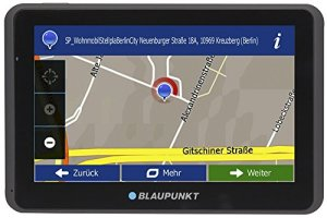 Blaupunkt TravelPilot 65 Active EU LMU – système de Navigation avec Support Actif, écran capacitif en Verre Tactile capacitif