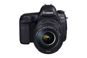 Canon EOS 5D Mark IV + EF 24-105 mm f/4L is II USM Kit Appareil Photo SLR 30,4 MP CMOS 6720 x 4480 Pixels Noir – Appareil Photo numérique (30,4 MP 6720 x 4480 Pixels CMOS 4K Ultra HD 800 g Noir)