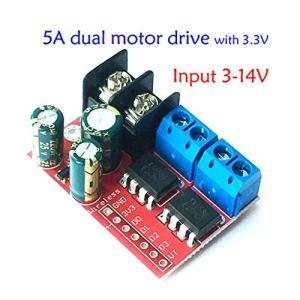 TY-Unless L298N Module moteur DC 2 voies Régulation de la vitesse PWM Double pont H
