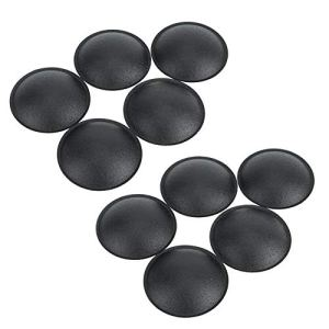 Yunir 10Pcs Dust Cap, 55MM Cloth Speaker Dust Cap avec Une légère élasticité pour décorer Le Haut-Parleur