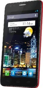 Alcatel Idol Ultra rouge (import Allemagne)