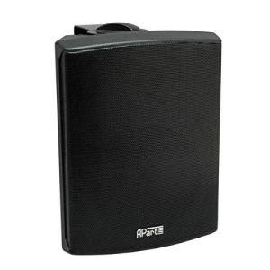 Apart Audio 8705000023 (VE2) Haut-parleur stéréo avec Télécommande Noir