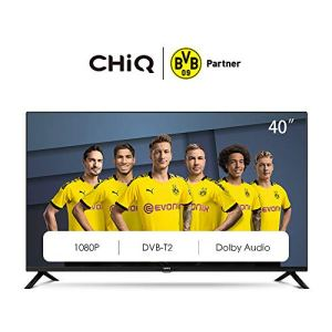 CHiQ L40G4500 40″ Full HD LED LCD TV,40 Pouces (101cm), titple tunner (DVBT / T2 / C / S2), Lecteur Multimédia Via Port USB Téléviseur,Dolby Audio,3 HDMI, 2 USB, Direct LED, [Energy Class A]