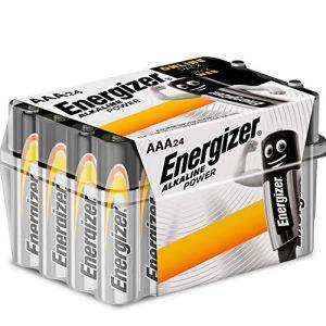 Energizer Pack de 24 Piles AAA Energizer Alkaline Power