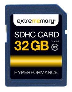 ExtreMemory EXMESDHC32GC10 HyPerformance Carte mémoire SDHC 32 Go