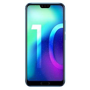 Honor 10 Smartphone Débloqué 4G (5,84 Pouces – 128 Go – 4Go RAM – Nano SIM – Android 8.1) Phantom Blue