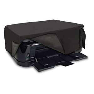 kwmobile Housse Compatible avec Canon Pixma TS6250 / 6150/6151 / 6251/8150 / 8151/8152 / 9150 – Housse de Protection pour Imprimante – Gris foncé