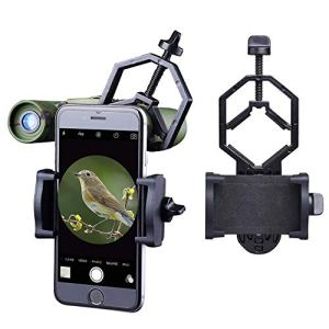 Libershine Smartphone Adaptateur Universel Digiscoping Adapter pour Télescope, Monoculaire, Microscope, Jumelles – pour Diamètre de 28 mm à 47 mm