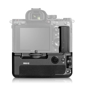 Meike – La poignée d'alimentation MK A9 pour votre appareil photo. Compatible pour les appareils Sony Alpha 9, A7 RIII ET A7III avec déclenchement vertical et autonomie double.