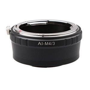 #N/A Bague D'adaptation pour Objectif AI à Micro4 / 3 M4 / 3 Panasonic GF8 / GX8 / G7 / GH4 / GX7