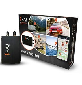 PAJ GPS Professional Finder 3.0 Traceur GPS Auto avec Connexion directe au Suivi en Direct de la Batterie