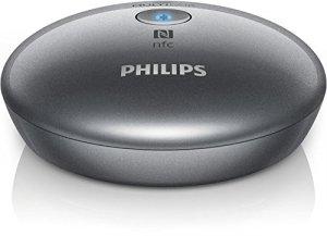 Philips AEA2000 Adaptateur Hi-Fi Bluetooth avec prise RCA et audio – Gris