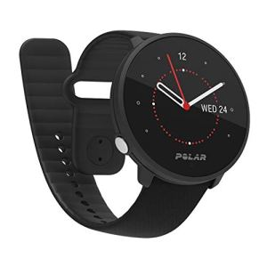 Polar Unite Fitness Watch Adulte Unisexe, Noir, S-L