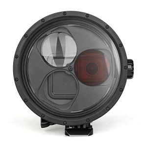 SHOOT Boîtier Étanche avec Filtre Rouge et Filtre Macro 10X pour GoPro Hero 7 Black/Hero 6/Hero 5-Étanche Jusqu'à 45M/147 Pieds