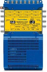 TechniSat GigaSystem 17/8 G TV Set-Top Boxe Satellite, Terrestre Bleu, Jaune – TV Set-Top Boxes (Satellite, Terrestre, Bleu, Jaune, Analogique, 1 Tuner(s), 47-2150 MHz, 230 V)