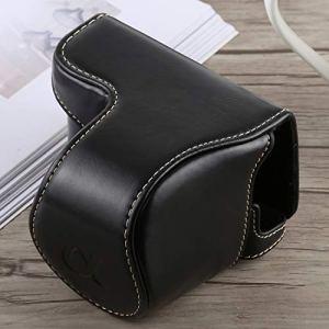 YANGZILING PU Caméra Full Body Sac étui en Cuir avec Sangle for Sony A5100 (Noir) (Color : Black)