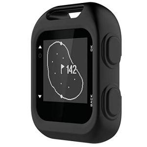 YOFEE WHZZ Étui de Protection en Silicone AYSM for Garmin Approach G10 Golf (Vert armée) (Color : Black)
