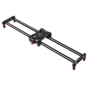 Zecti 60cm Slider Carbon Fiber Camera Camera / Video Rail Rail Video Slider for Stabilization Photo Video Filmmaking DSLR camera like the Nikon Canon Pentax Sony, load load up to 8kg