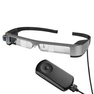 ZXGHS Smart Lunettes AR, WiFi Connexion Bluetooth à Haute définition Mobiles Lunettes de cinéma 3D, Peuvent Se connecter Android/Ordinateur/DVD Portable et d'autres appareils