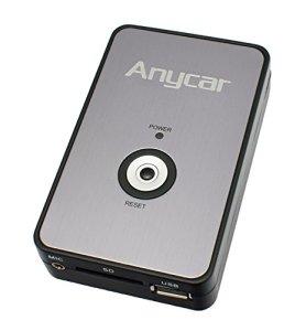 Anycar Adaptateur USB SD AUX MP3 pour Audi avec Radio : Chorus 2 Concert 1/2 Symphony 1/2 Navigation Plus 1/2