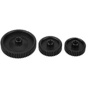 Bigking Suivez l'objectif de Mise au Point, 3 pièces ABS de Haute qualité Durable Suivez Le Kit de Mise au Point de Mise au Point 65T 43T 38T 0.8mm pour DP3000