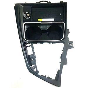 Chargeur sans fil de voiture, plaque de charge 10W QI panneau de changement de vitesse accessoires de support de tasse d'eau dédié pour F30 F31 F32 F33 F34 F35 F36,3series