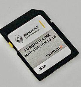 Dernière carte SD pour Renault R-Link Tom Tom 2020 Carte SD Mises à jour pour GPS Compatible avec toute l'Europe. Version 10.15 – MEGANE, CLIO, LAGUNA, SCENIC, KANGOO, FLUENCE, ESPACE, TRAFFIC