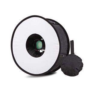 JICHUIO Ring Softbox Speedlight Round Style Flash Light Shoot Soft Box Foldable Soft Flash Light Diffuser Cameras
